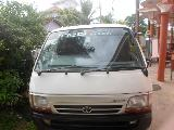 1998 Toyota HiAce LH103 Van For Sale.