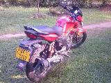 2009 Hero Honda Hunk 150cc Motorcycle For Sale.