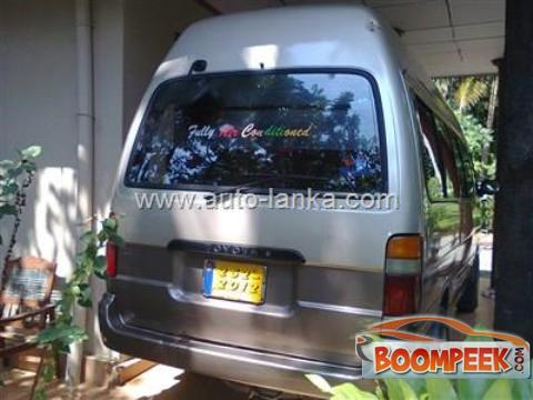 Toyota Dolphin LH123 Van For Sale In Sri Lanka - Ad ID = CS00008662