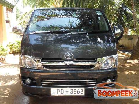 Toyota HiAce KDH200 Van For Sale In Sri Lanka - Ad ID