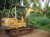 1997 YANMAR EXCAVATOR    Constructional Vehicle For Sale.