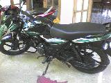 2010 Bajaj Discover 100 DTS-si Motorcycle For Sale.