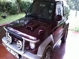 1997 Mitsubishi Pajero Pajero Junior SUV (Jeep) For Sale.