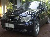2003 Mercedes-Benz C180 Kompressor Car For Sale.