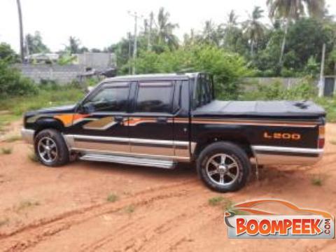 mitsubishi l200 4d56 turbo cab pickup truck for sale in sri lanka ad id cs00011838. Black Bedroom Furniture Sets. Home Design Ideas