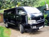 2008 Toyota HiAce  Van For Sale.