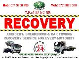 2010  RECOVERY SERVICE 24H NPR Cab (PickUp truck) For Sale.