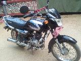 2011 Bajaj CT100  Motorcycle For Sale.