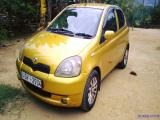 2000 Toyota Vitz U grade Car For Sale.