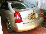 2001 Nissan Primera  P12 Car For Sale.
