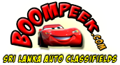 BoomPeek.com,Sri Lanka Auto Classifieds